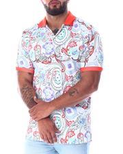 Men - Paisley Polo Shirt (B&T)-2511659
