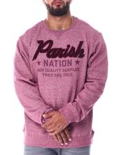 Parish - Parish Nation Crew Marled Sweatshirt (B&T)-2512181