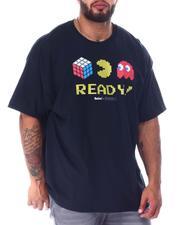 Men - Pac-Man x Rubik's Ready T-Shirt (B&T)-2516937
