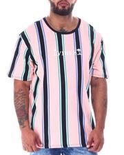 Men - Vibes Vertical Stripe T-Shirt (B&T)-2516953