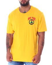 Men - Make Peace Rose T-Shirt (B&T)-2516957
