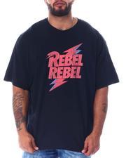 Men - Rebel Rebel Bowie T-Shirt (B&T)-2519622