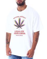 Men - Legalize Marijuana Trippy T-Shirt (B&T)-2519640