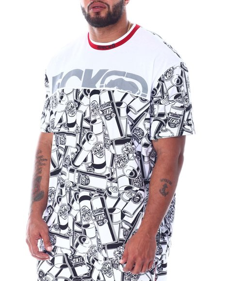 Ecko - End To End Crew Neck S/S Tee (B&T)