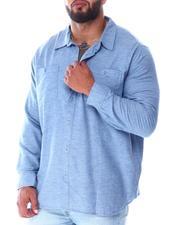 Men - Woven Long Sleeve Shirt (B&T)-2519833