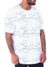 Brooklyn Cloth - Streaky Print Crewneck T-Shirt (B&T)-2517000