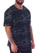 Brooklyn Cloth - Streaky Print Crewneck T-Shirt (B&T)-2517004
