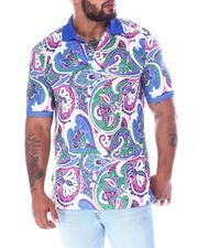 Buyers Picks - Paisley Polo Shirt (B&T)-2511610