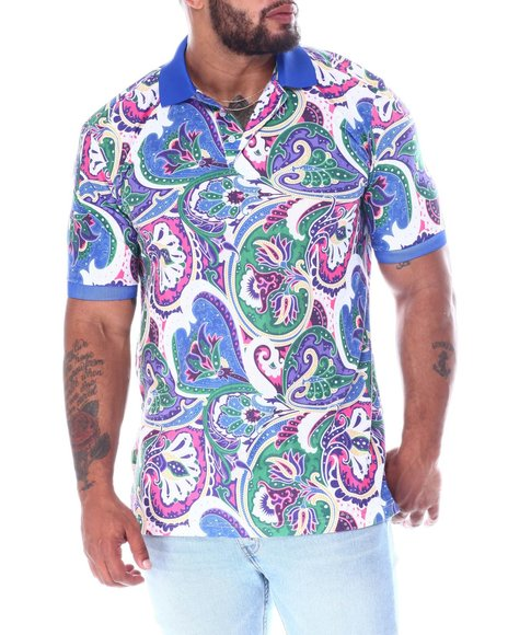 Buyers Picks - Paisley Polo Shirt (B&T)