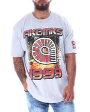 Akademiks - Flight HD Gel & Foil Tee (B&T)-2519676