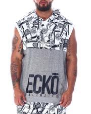 Ecko - Canons Color Block Sleeveless Hood (B&T)-2519734