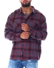 Big & Tall - Plaid Long Sleeve Flannel Top (B&T)-2519776
