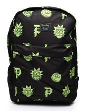 Backpacks - Primitive x Rick & Morty Face Backpack (Unisex)-2517994