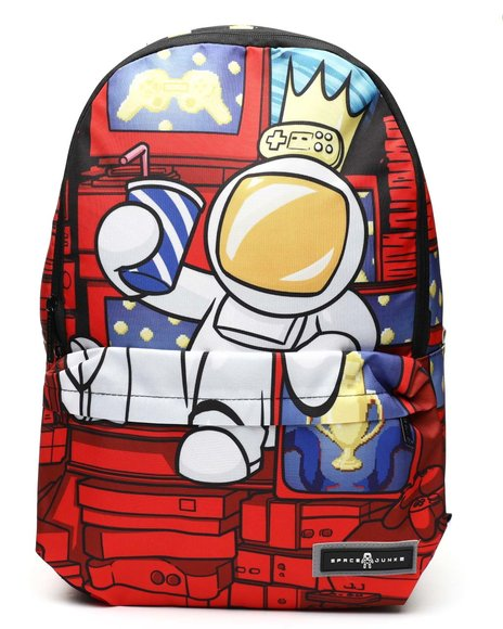 Space Junk - Gamer King Backpack (Unisex)