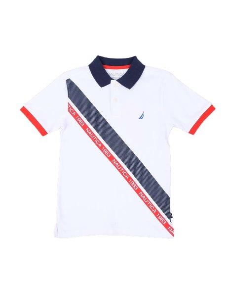 Nautica - Striped Polo Shirt (8-20)
