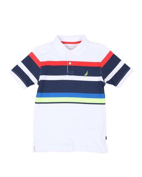 Nautica - Justin Striped Polo Shirt (8-20)