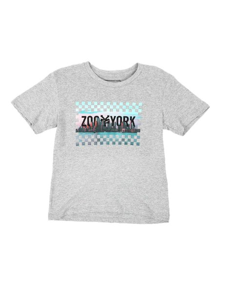 Zoo York - Checkered Graphic Tee (8-20)