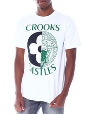 Crooks & Castles - Medusa Monogram Split Tee-2518251