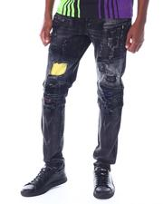 Jeans & Pants - Biker ripped color Jean-2520668