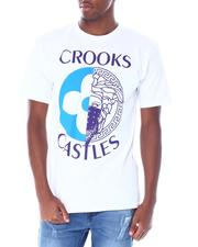 Crooks & Castles - Medusa Monogram Split Tee-2518227