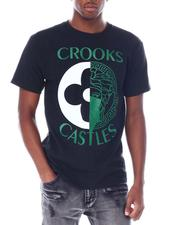 Crooks & Castles - Medusa Monogram Split Tee-2518269
