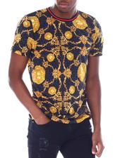 Buyers Picks - Gold Chain Regal Lion Tee-2518747