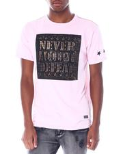 Buyers Picks - Never Accept Defeat Brushed Foil Tee-2518828