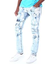 Jeans & Pants - Shredded Jeans w Color Underlay-2520283