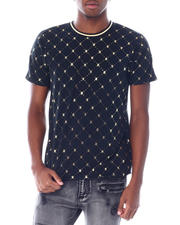 T-Shirts - Foil Bee Argyle Tee-2518604