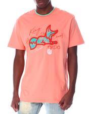 AKOO - Flocked Snobby SS Knit Tee-2520922