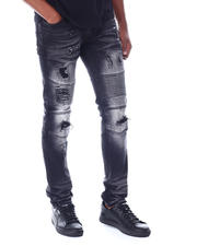 Jeans & Pants - Coated Biker Jean-2520224