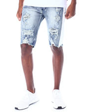 Buyers Picks - BLEACH SPLATTER Denim Short-2520127