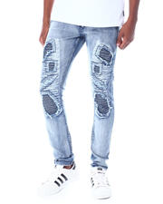 Jeans & Pants - Cloud Wash Moto Jean-2520135