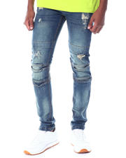 Jeans & Pants - Distressed Articulated Knee Jean-2519396