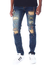 Jeans & Pants - Ripped color stitch Jean-2520638