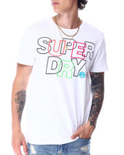 Superdry - INTERNATIONAL EMBROIDERY INTERLOCK T SHIRT-2518482