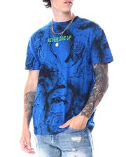 Men - Never Give Up Marble Tee-2518833