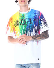 Makobi - Originals Rainbow Paint Drip Tee-2518937