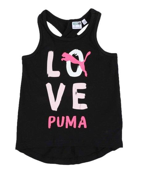 Puma - Alpha Pack Cross Pack Fashion Tank Top (4-6X)