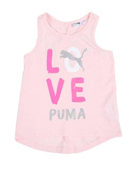 Puma - Alpha Pack Cross Back Fashion Tank Top (4-6X)