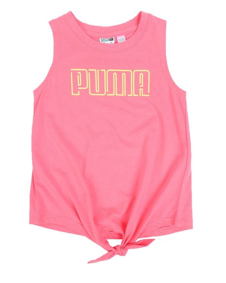 Puma - Stay Bold Pack Tie Front Tank Top (4-6X)