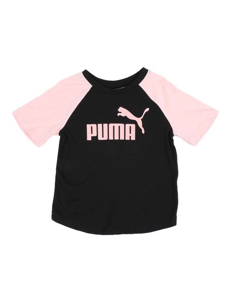 Puma - No.1 Logo Pack Raglan Fashion Tee (4-6X)