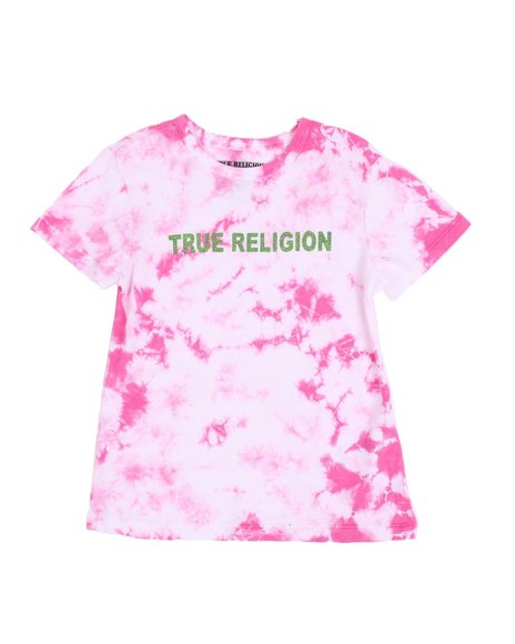 True Religion - Neon Tie Dye Tee (7-16)