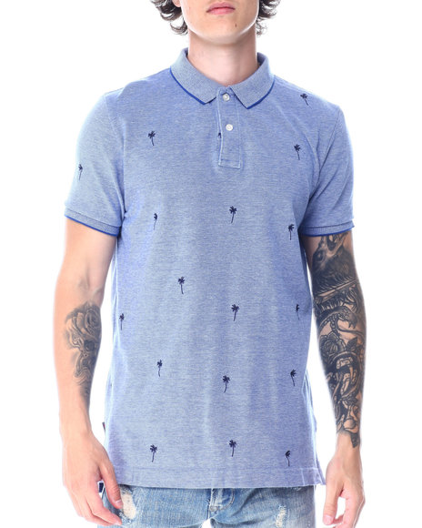 Superdry - CLASSIC EMBROIDERED PIQUE POLO SHIRT