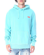 DJPremium - ORANGE LABEL PASTELLINE LOOPBACK HOODIE-2518732