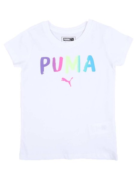 Puma - Alpha Pack Graphic Tee (4-6X)