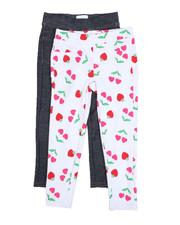 Girls - Leggings Twin Pack (4-6X)-2520320