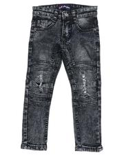Sizes 2T-4T - Toddler - Cut & Sew Fancy Stretch Jeans (2T-4T)-2521944