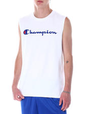 Champion - Classic Script Logo Muscle Tee-2522740