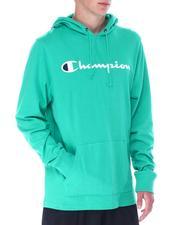 Champion - LS Script Hooded Tee-2522759
